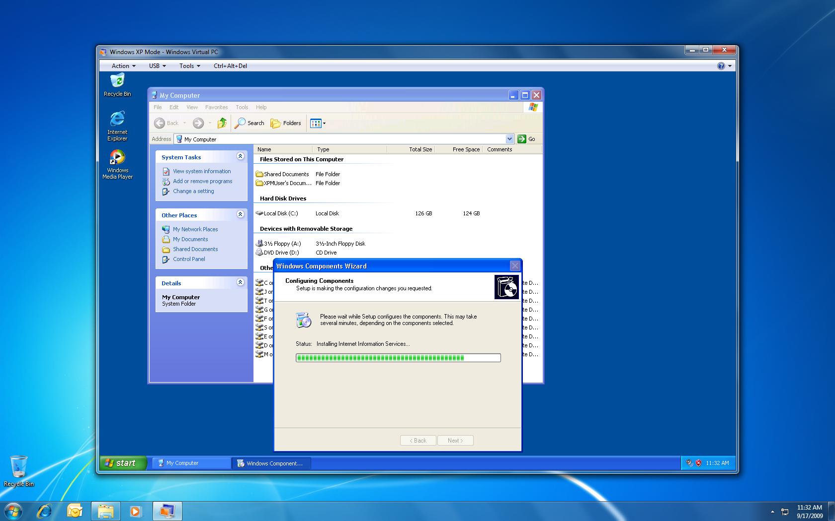 Testing Windows 7 RTM and XP Mode   chmod 644