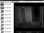 eyeZM on the iPad, event view