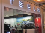 "Tesla ""dealership"" at Galleria Mall"