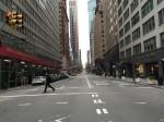 empty morning streets