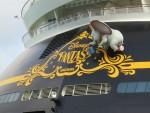 Dumbo on the Disney Fantasy
