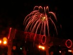 fireworks on Pirate Night