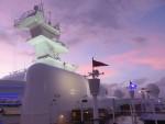 sunset on deck 12