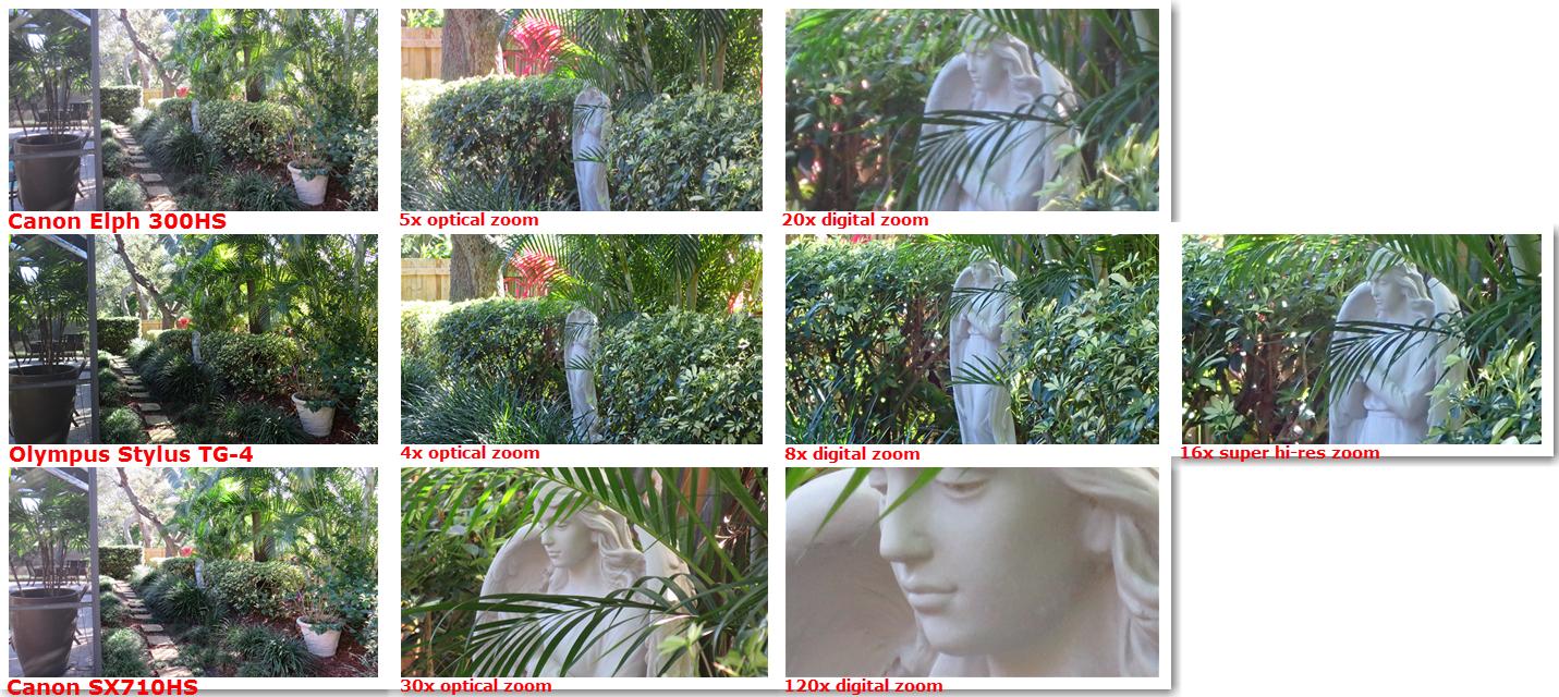 camera comparison shots