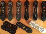 my TiVo remotes