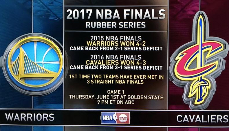 Cavs-Warriors 2017 Finals