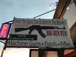 shoot guns in West Yellowstone