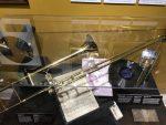 Glen Miller's trombone at CU