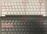 Laptop vs. Pro 4 - keyboard