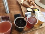 beer flight at Baseline Tap House