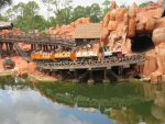 Thunder Mountain Railroad (as viewed from Tom Sawyer Island)