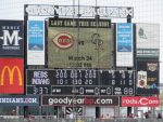 final score, Indians beat the Reds