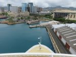 downtown Honolulu from the pier