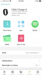 Fitbit settings
