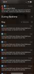 alarm push notifications